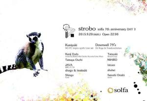 solfa 7th Anniversary Day3 'strobo'