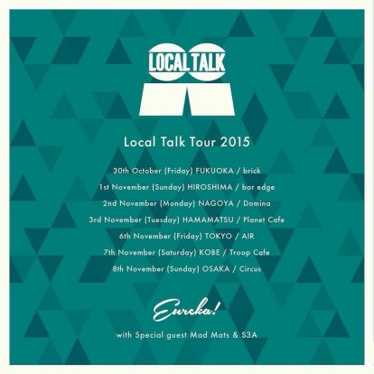 Local Talk vs EUREKA! Tour date