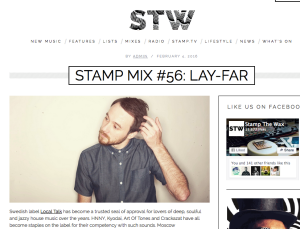 STAMP MIX #56: LAY-FAR