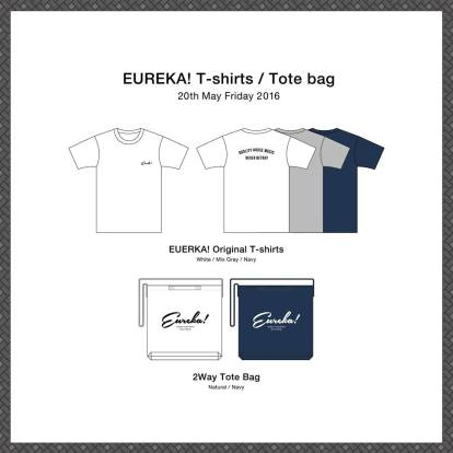 Original goods of EUREKA! designed by Tomomi Iwai